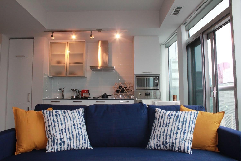 短租 – 多伦多市中心湖边一室公寓 – 14 York St