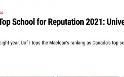 2021加拿大TOP大学排行榜出炉!